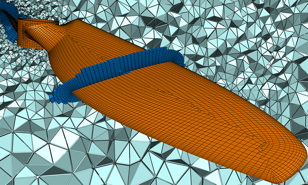 Rapid Viscous CFD Mesh Generation for Propellers