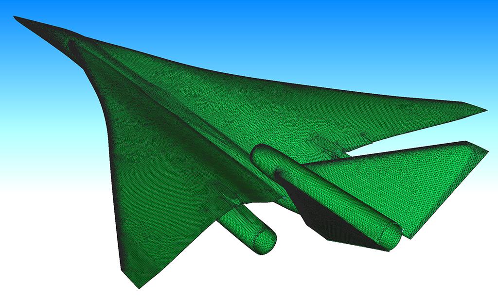 Webinar - Supersonic Aircraft Shape Design - 2014