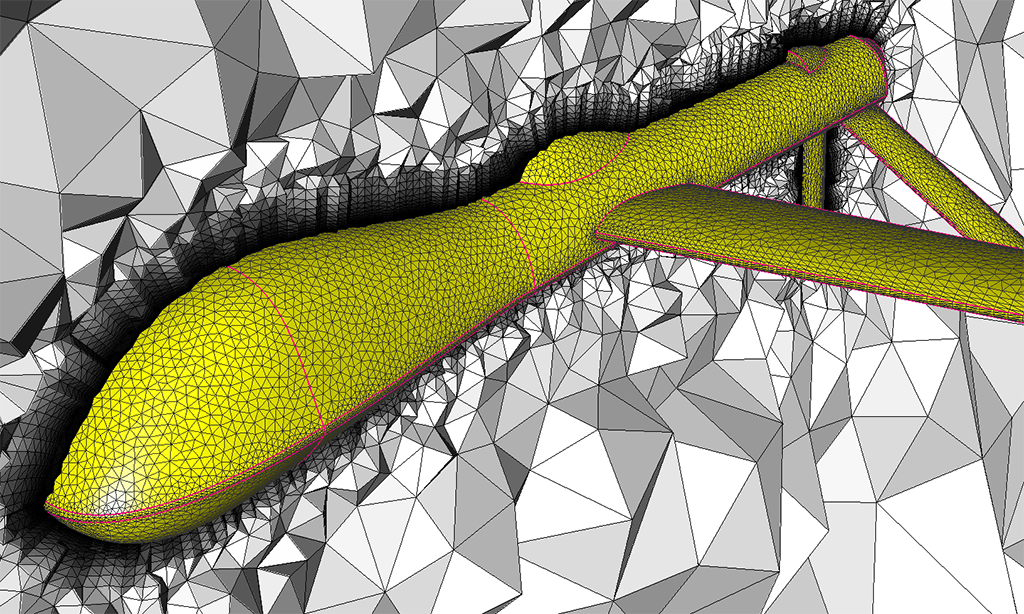 Unstructured Viscous Boundary Layer Meshing: T-Rex