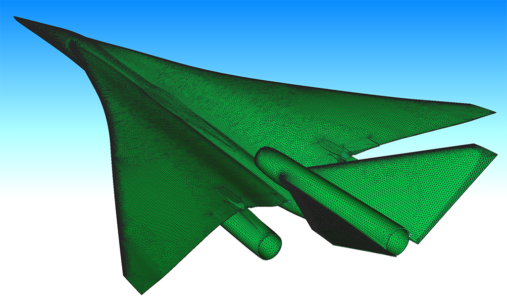 Supersonic Aircraft Shape Design